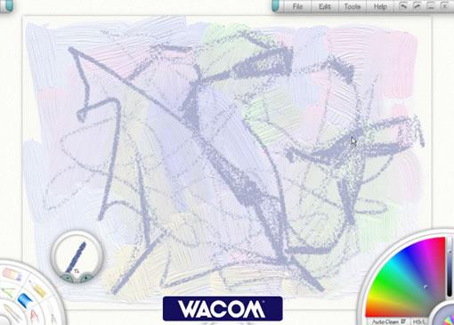 两张脸组成一幅画-程D 自由线条构成