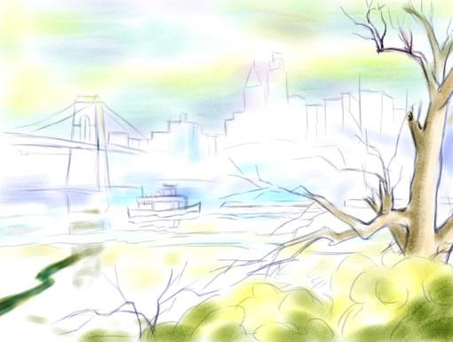 水彩风景教程_水彩风景教程步骤图解