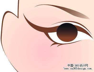 画眼睛手绘素描教程:手绘眼睛的素描教程步骤(06